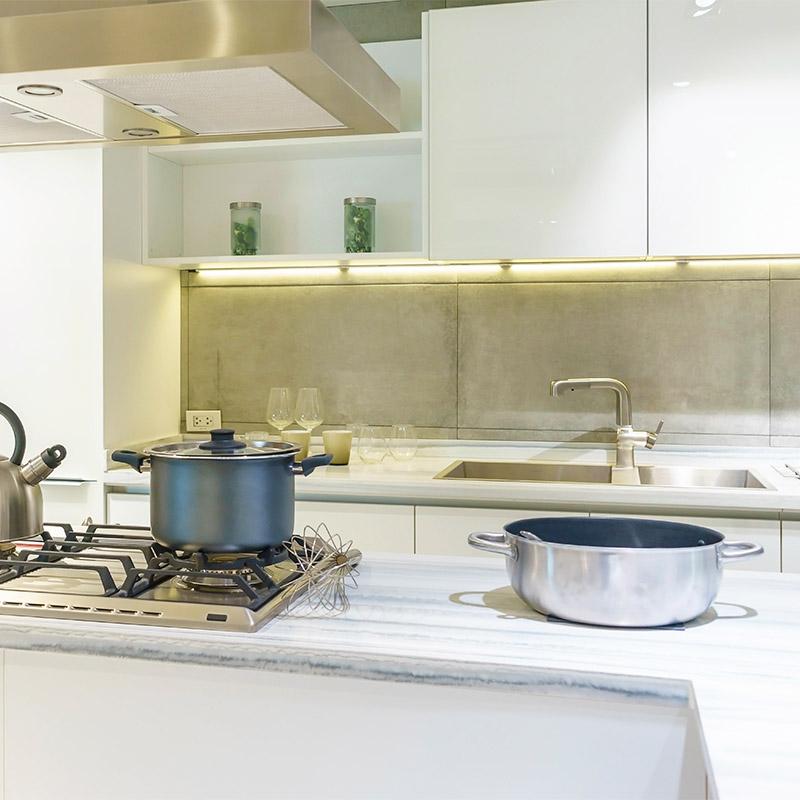 Acerte na iluminação da cozinha